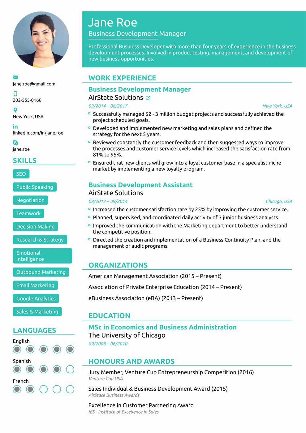 Functional Resume Template Word Luxury 8 Best Line Resume