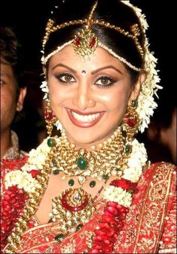 bolloywood celebraties with jewelery Google Search Bride wear
