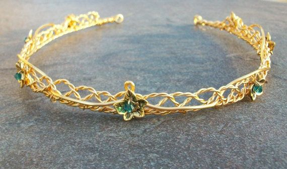 Eowyn Celtic Weave Lady of Rohan Circlet in Custom by PernCirclets