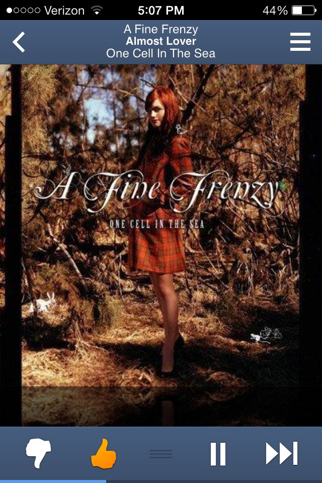 My Almost Lover - my feelings in a song - by Fine Frenzy - my ...