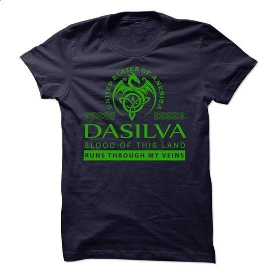 DASILVA-the-awesome - #best friend shirt #hipster shirt. ORDER HERE => https://www.sunfrog.com/Names/DASILVA-the-awesome-52877110-Guys.html?68278