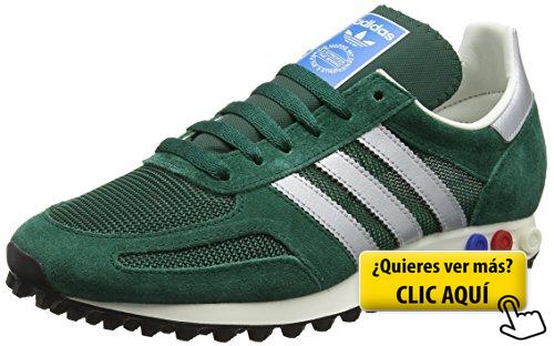 zapatillas adidas verdes hombre