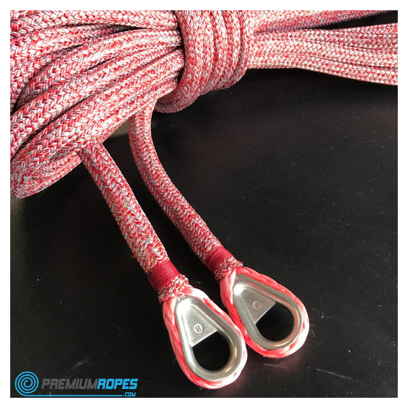 D Performance Sheets With Core Of Sk38 Dyneema And Closed Stainless Steel Thimbles Spliced In The Eye Sailingsheets Eyesplice Thimbles Stainlesssteel Coleira