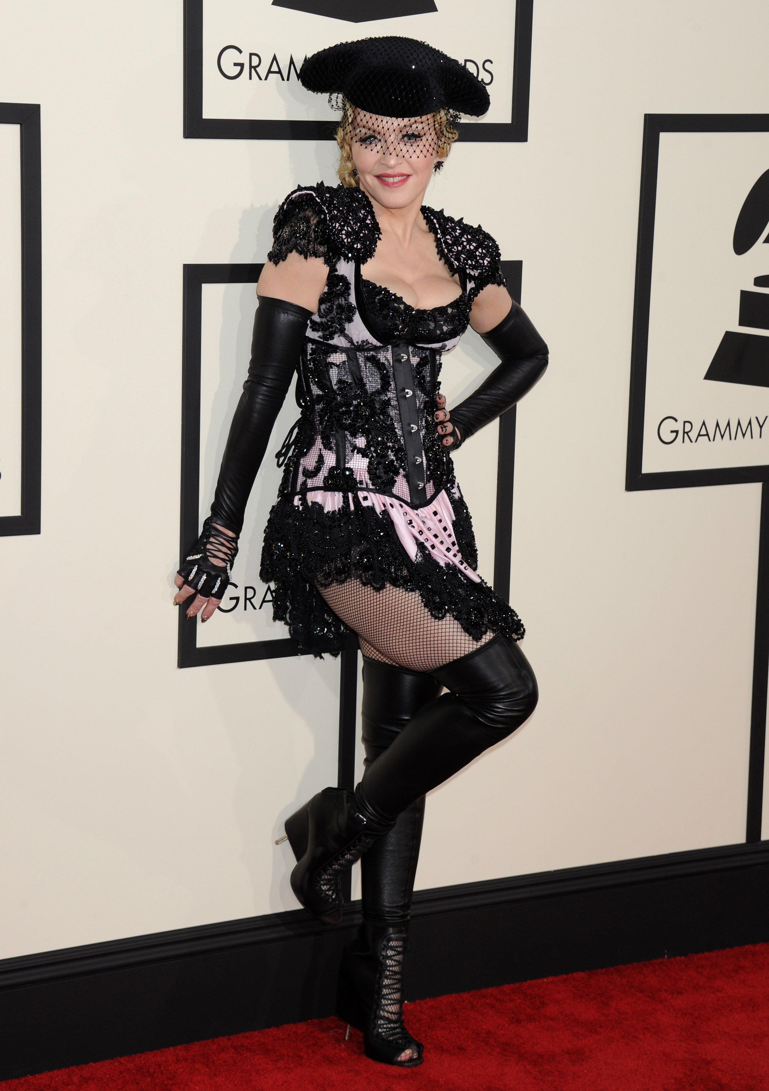 Madonna celebrity pantyhose Pinterest
