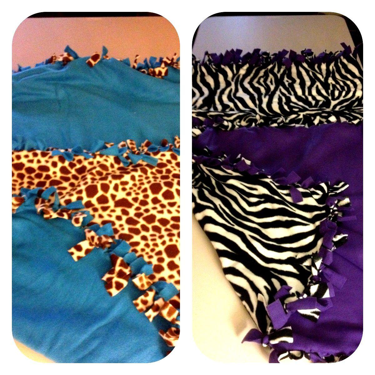 Fleece animal printneon blankets for the kids zebra blankets