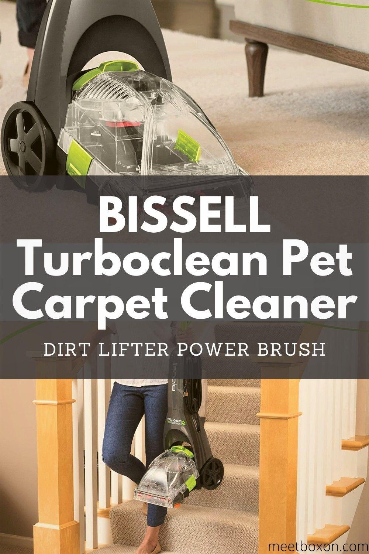 bissell turboclean powerbrush pet 1-speed carpet cleaner reviews
