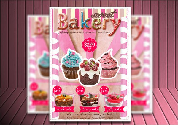Unique Bakery Flyers Cakes Pinterest Bakeries And Cake