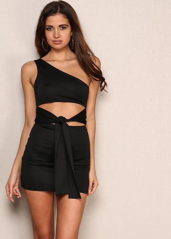 Knot Waiting for You Mini Dress