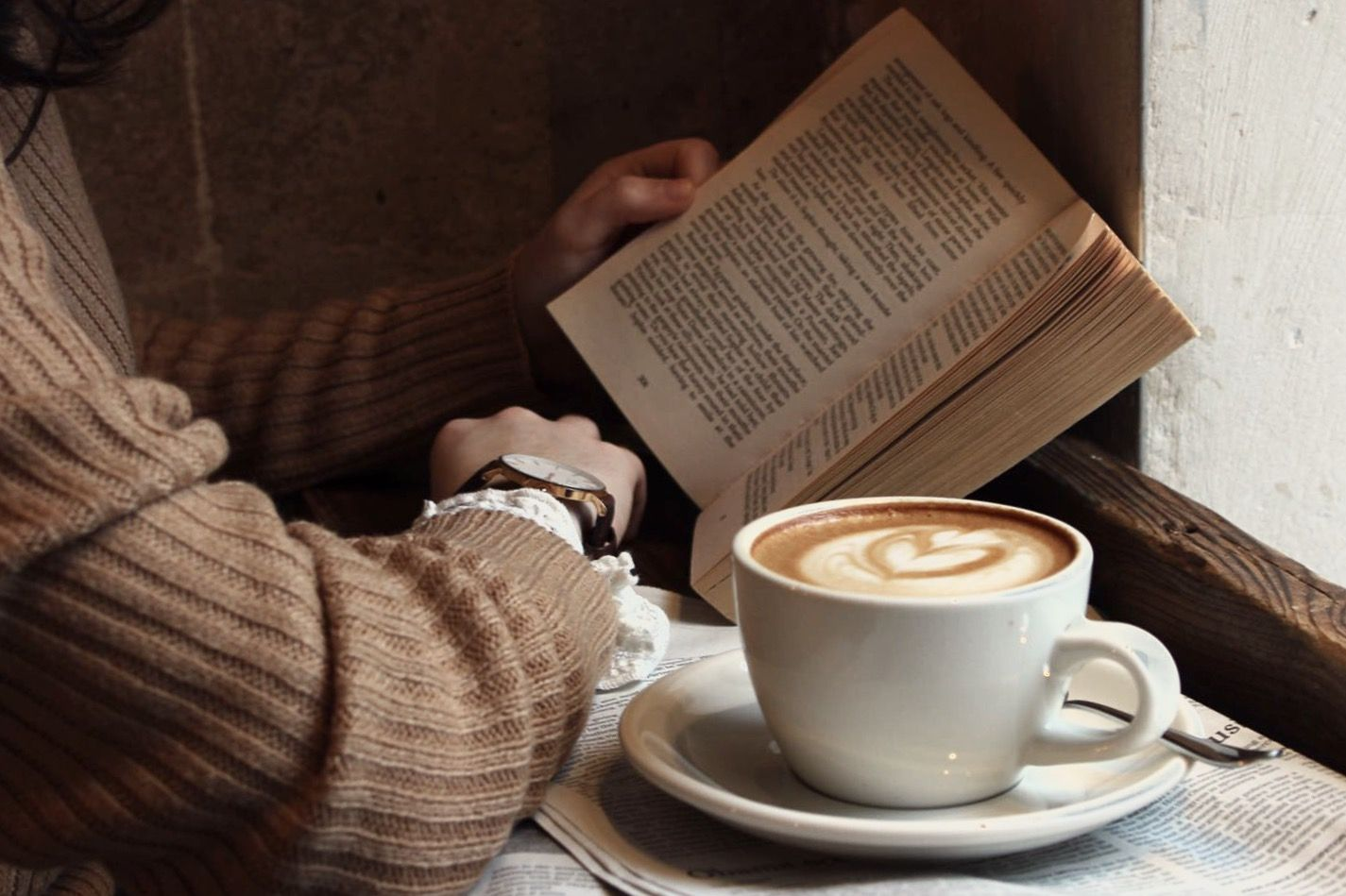 Pin By Kasey On Oc Quincy Belmont Coffee And Books Brown Aesthetic Remus