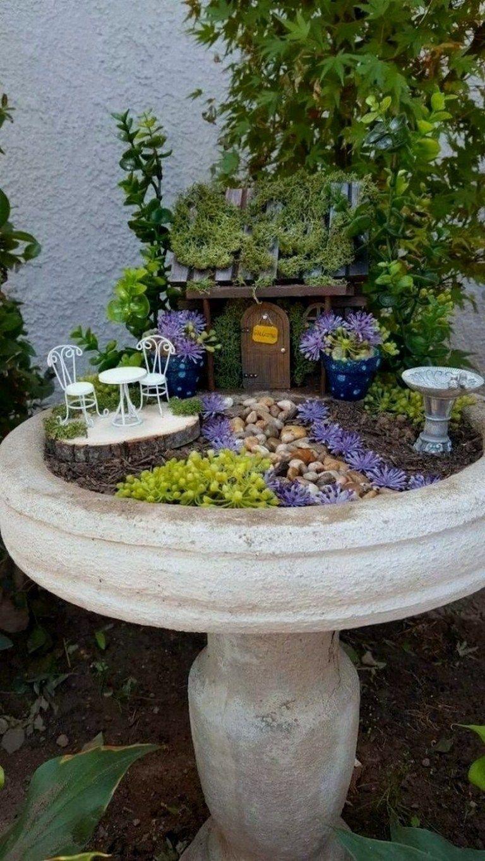 38+ How to Make a Fairy Garden #fairygarden #fairygardenplants