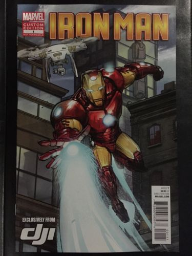 2015 sdcc exclusivemarvel iron man #custom #edition #1 #comic book promo dji,  View more on the LINK: http://www.zeppy.io/product/gb/2/131717378626/