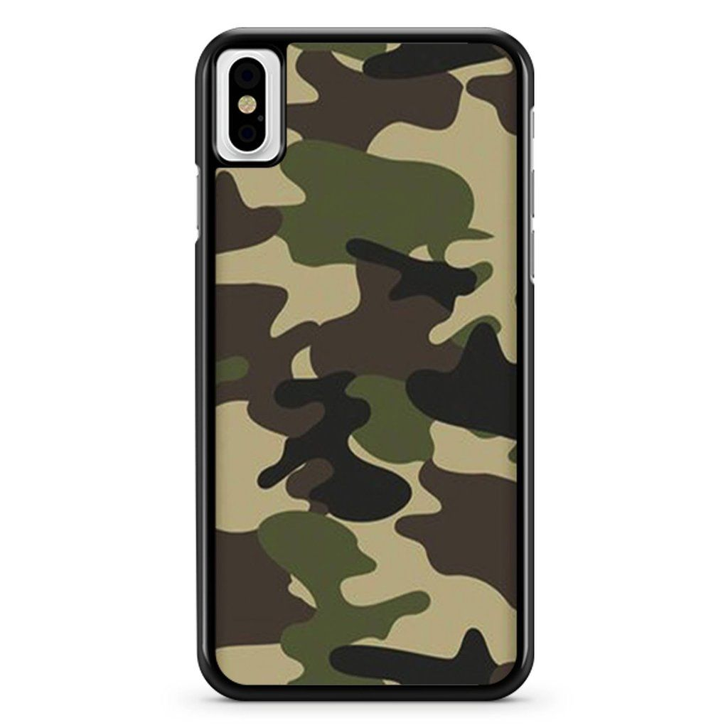 Camouflage Green Army Pattern iPhone X / XS / XR / XS Max