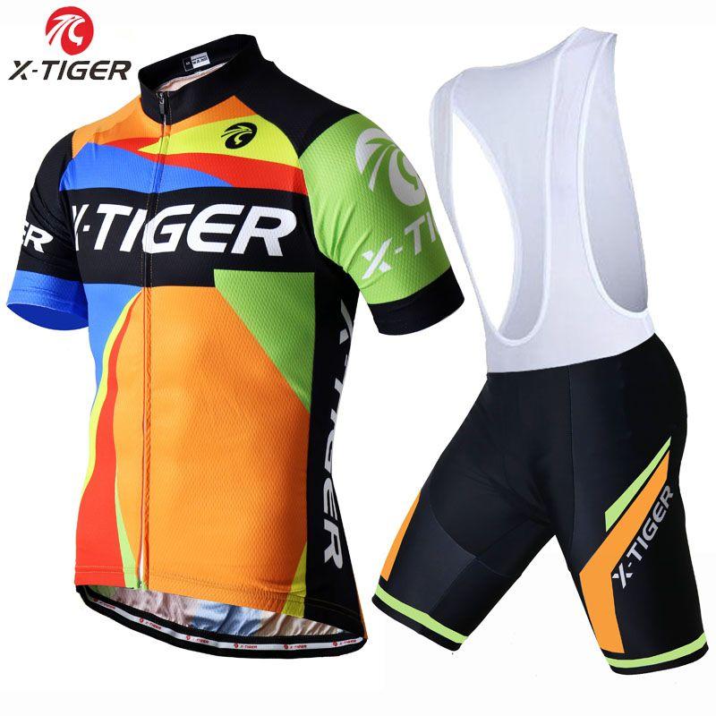 X-tiger 2017 estate in bicicletta clothing quick-dry vestiti del ciclo corsa bicicletta wear maglia ciclismo ropa hombre mtb bici jersey