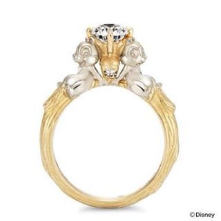 9af73dc83 Chip and Dale ring from K.uno in Japan #disney #chipanddale #disneyjewelry  #kuno