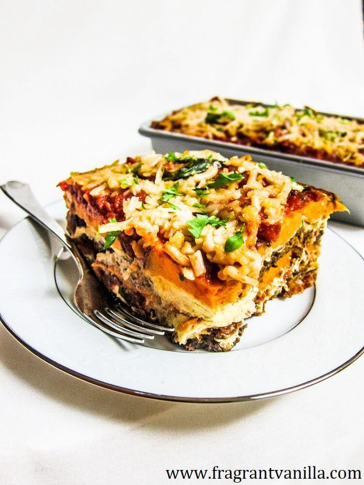 Vegan Sweet Potato Lasagna Vegan Sweet Potato Potato Lasagna Raw Vegan Recipes