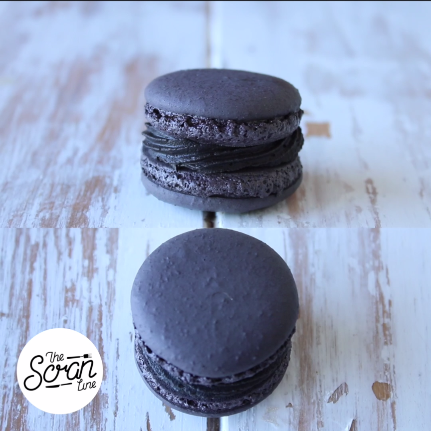 Black is the new black when it comes to this delish dessert with a chocolate truffle center. Save the recipe on our app! http://link.tastemade.com/HE7m/H1wHe4m2mA