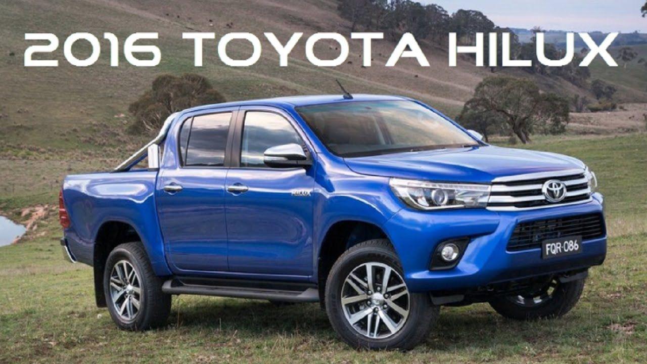 Toyota hilux 2016 revealed