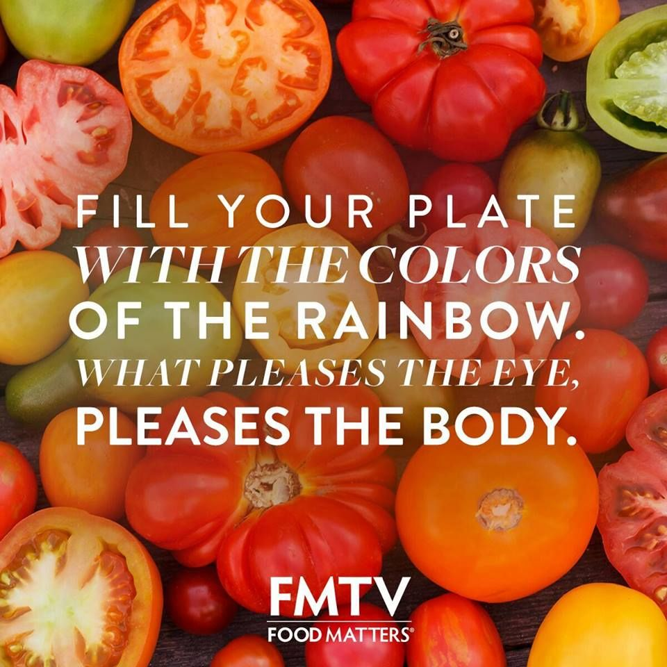 Have you eaten all the colors today? FMTV