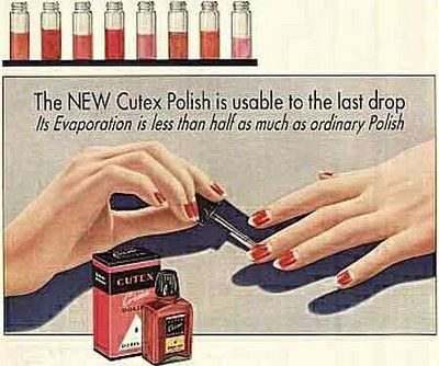 Colored Nail Polishes Were Invented In The 1920s And First Polish Was Launched By Revlon Nails Taken From Www Suite101 Co