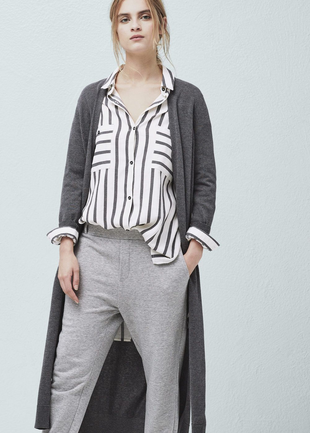Long cotton cardigan | Cotton, Muslim fashion and White outfits