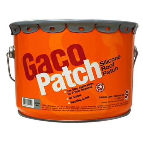 Best Gaco Patch Silicone Roof Patch 2 Gallon Pail Shed Roof 400 x 300