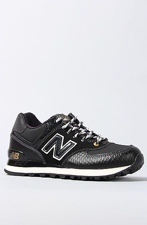 New Balance Sneaker 574 Year of the Snake in Black | For the