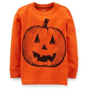 CarterS Boys Halloween Pumpkin Tee - Orange, 4  #Boys #BoysHalloweenCostumes #Carters #Halloween #Orange #Pumpkin Halloween Spirit
