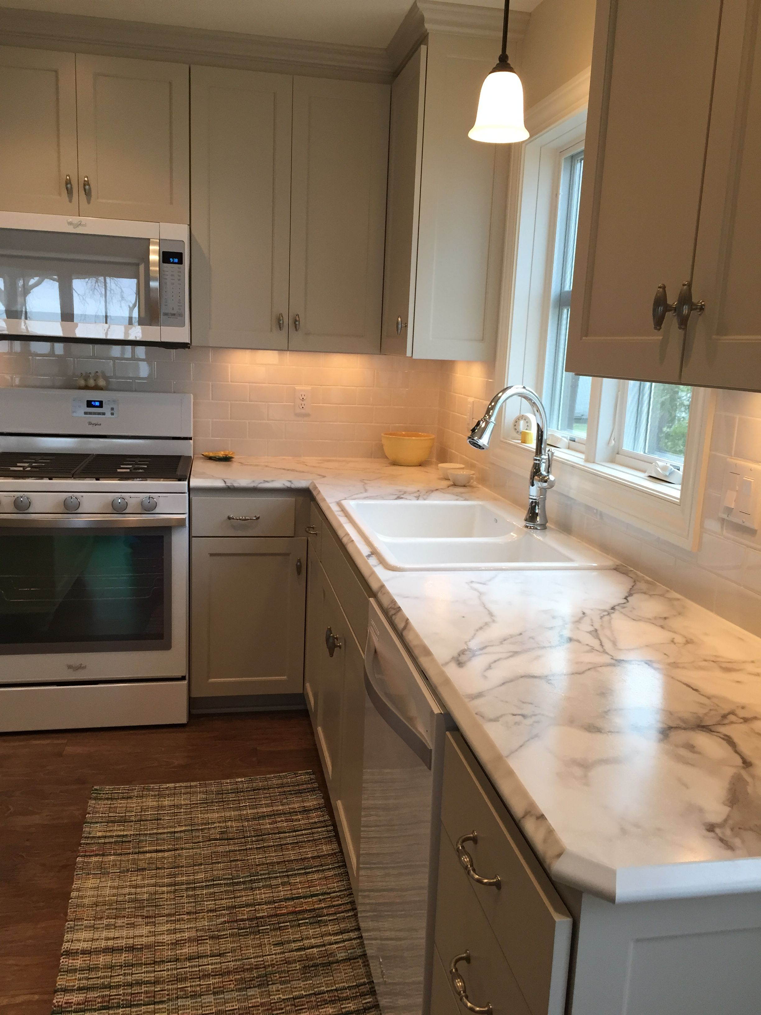 Formica Fx 180 Calcutta Marble With Ideal Edge Kitchen