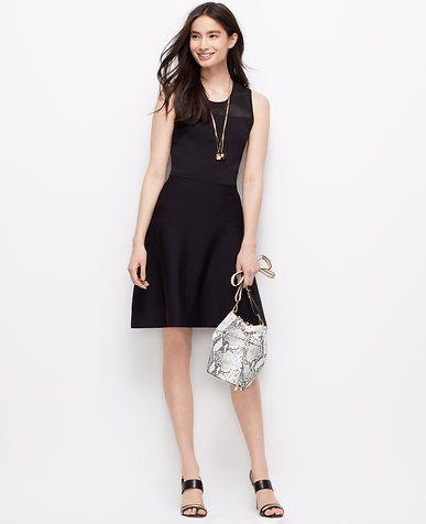 6e84c4fec677a Petite Sleeveless Sweater Dress   *Ann Taylor*   Dresses, Little ...