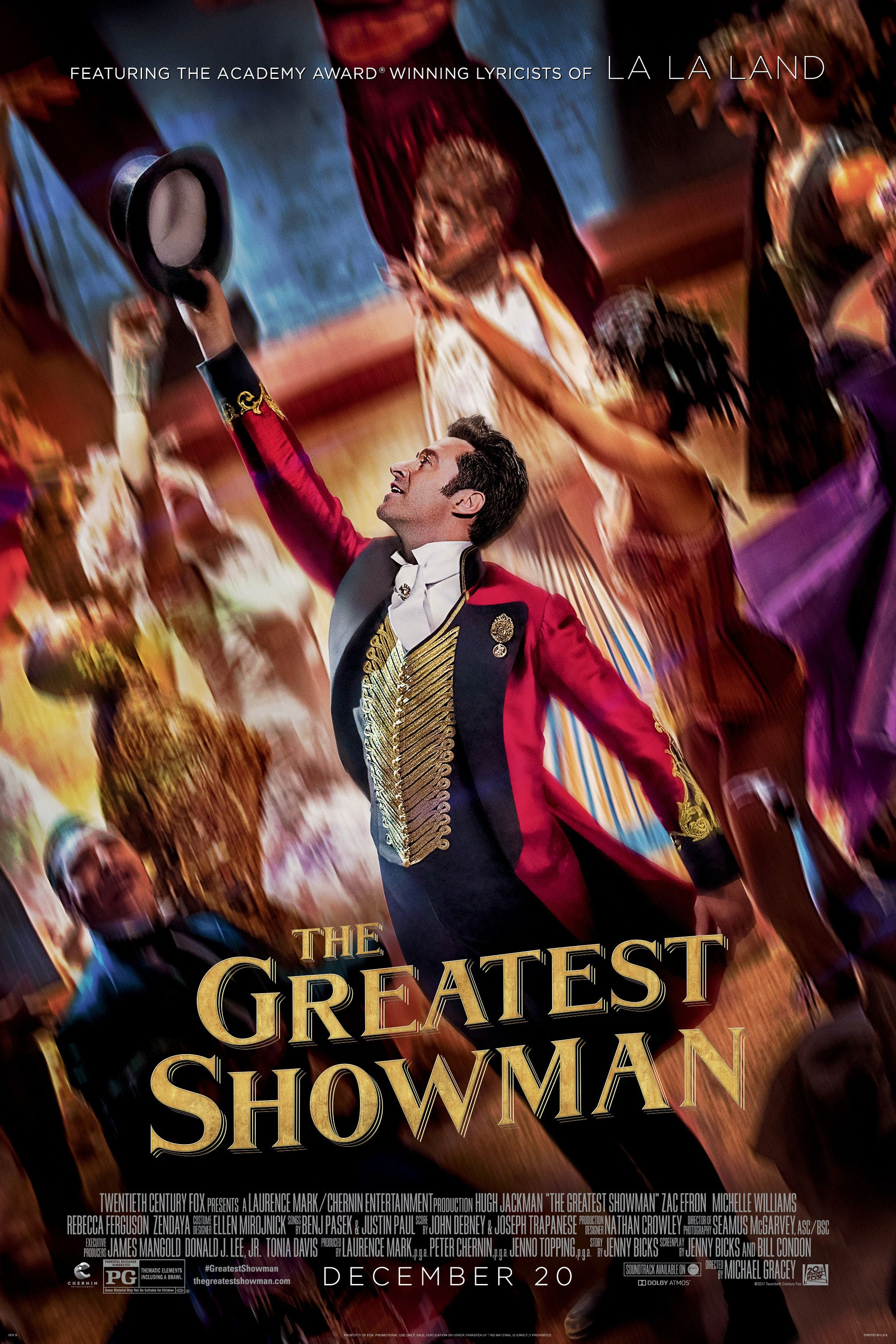 The Greatest Showman West Wind DriveIn The greatest