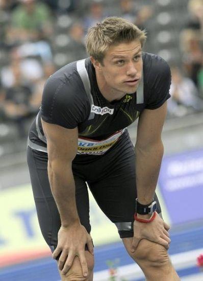 Andreas Thorkildsen of Norway won gold in javelin throwing ... Andreas Thorkildsen