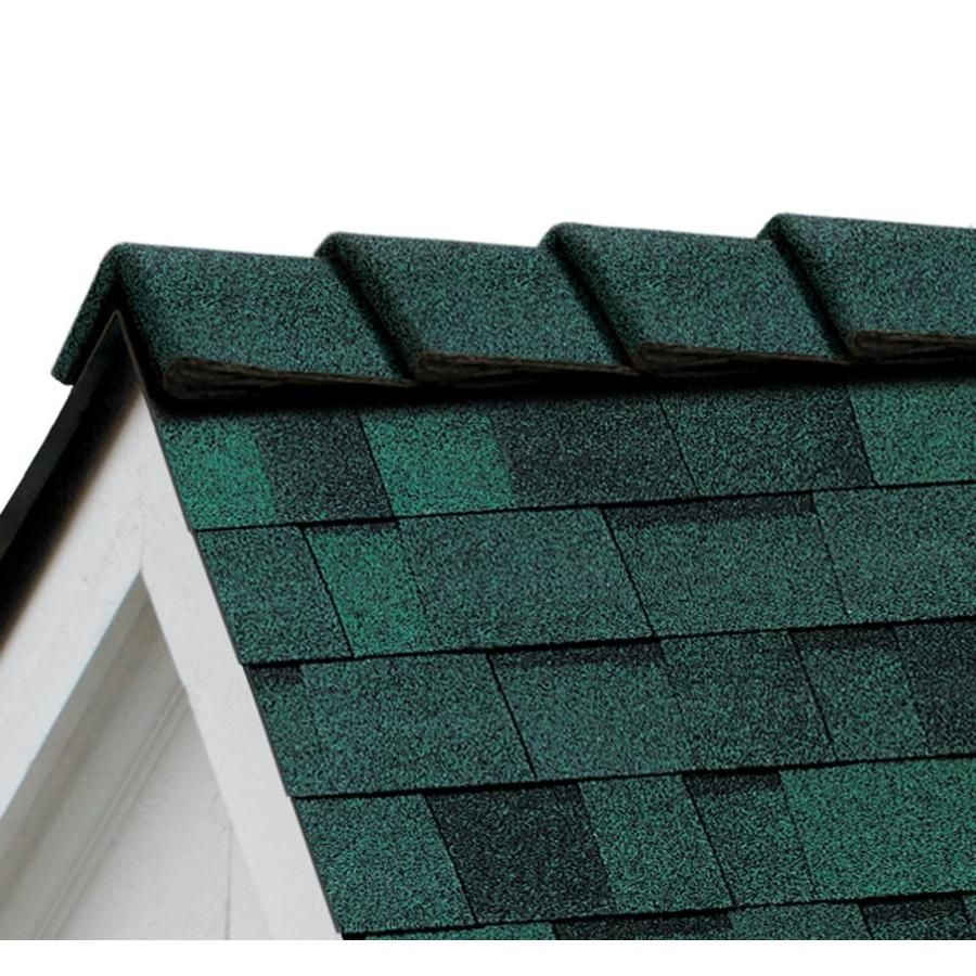 Best Owens Corning Decoridge 20 Lin Ft Chateau Green Hip And 400 x 300