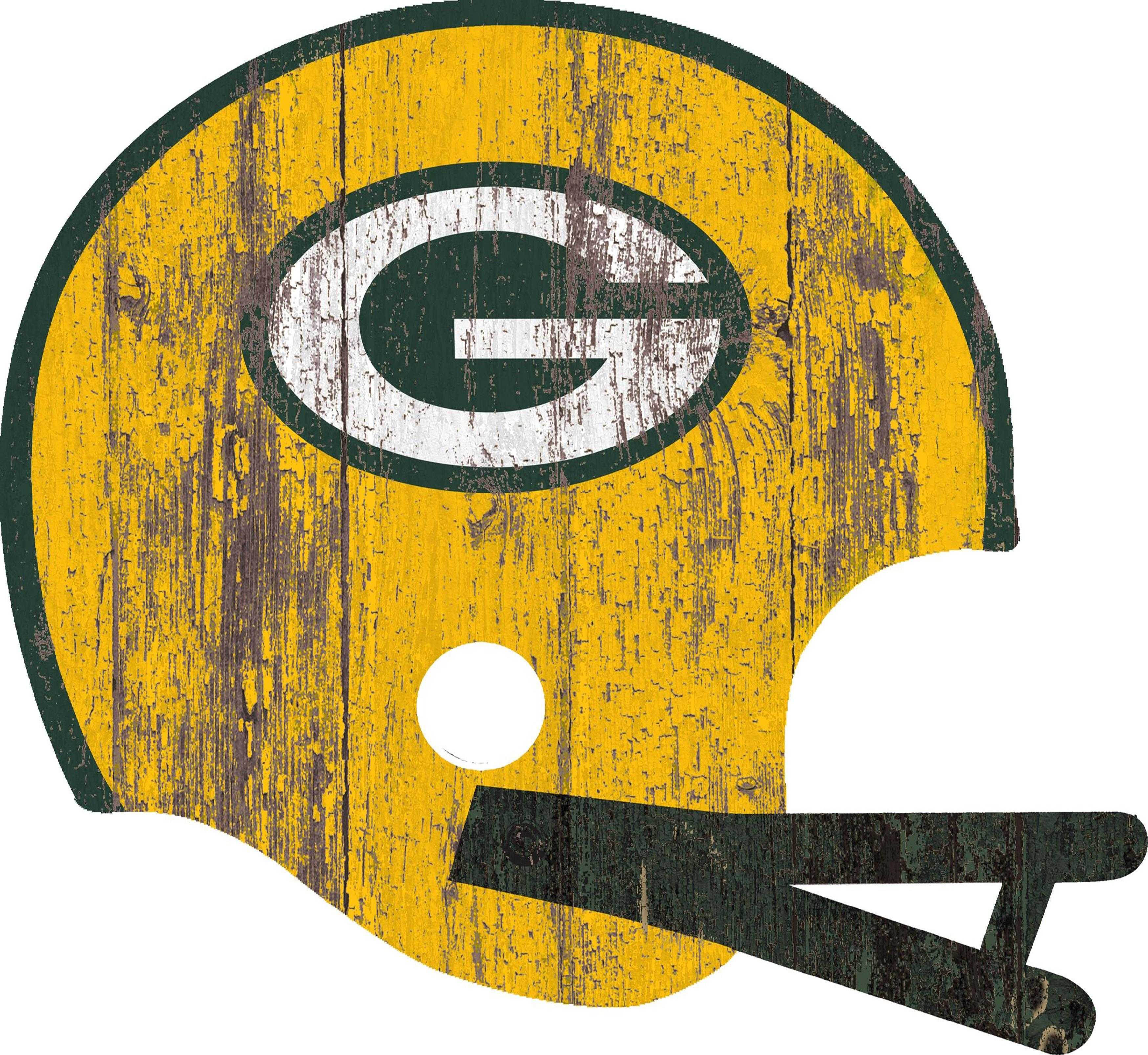 Green Bay Packers Sign Large Wood Helmet Green Bay Packers Signs Green Bay Packers Fans Green Bay Packers