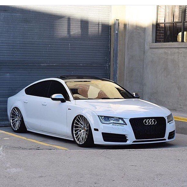 "Repost Via Instagram: Audi A7 On 21"" FORGE MV10-T DuoBlock"