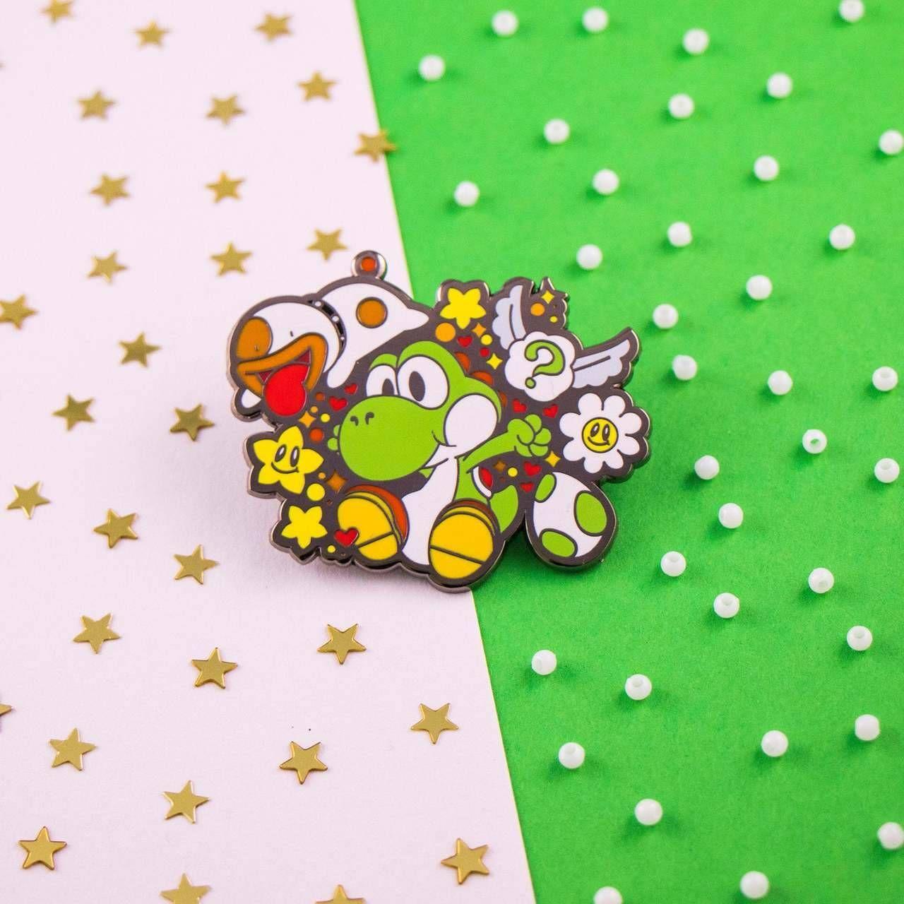 Yoshi & Poochy PIns made by ArtRox -