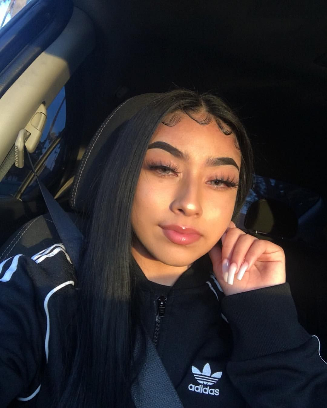 Destiny Gutierrez D Beendidthat Instagram Photos And Videos Baddie Hairstyles Slick Hairstyles Edges Hair