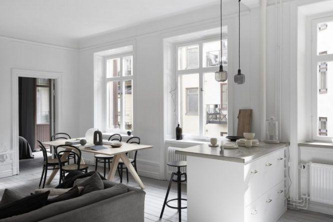 Piso pequeño y elegante Piso pequeño, Piso moderna y Decoracion - decoracion de espacios pequeos