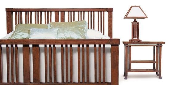 The Ingalls Bedroom Set From Frank Lloyd Wright