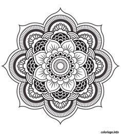 Coloriage Mandala Fleur Dessin A Imprimer Coloriage Mandala Mandala A Imprimer Mandala