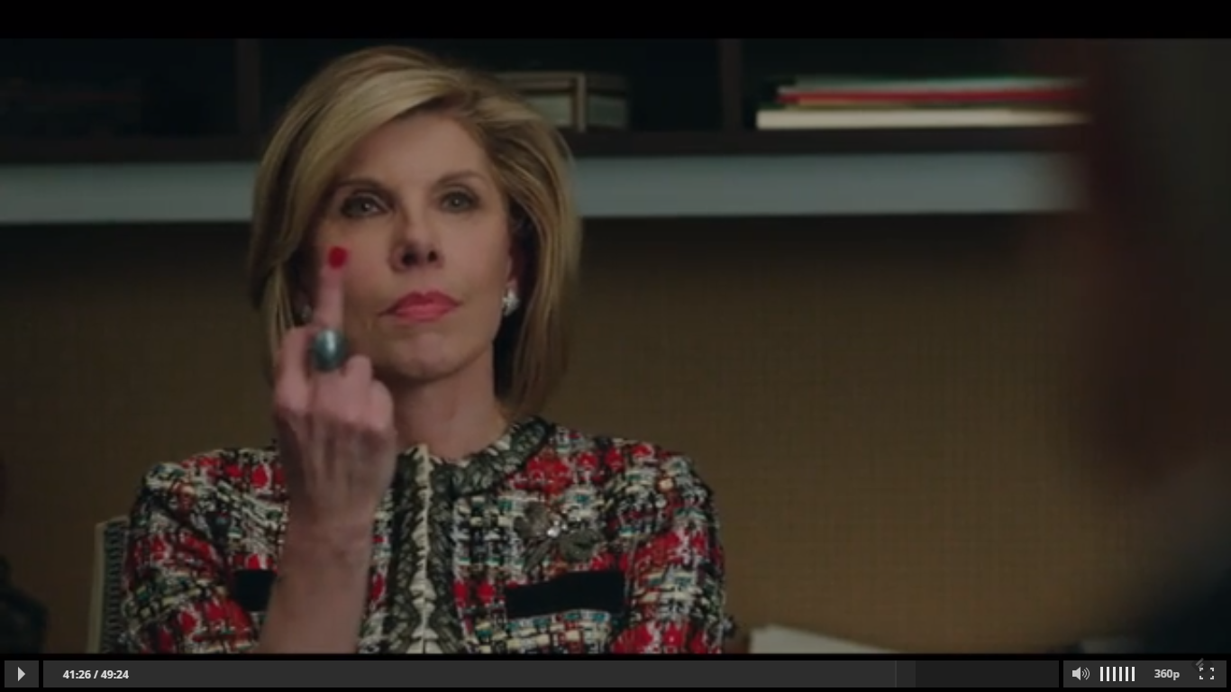 Diane Lockhart Role Models Good Wife Strong Female Lead