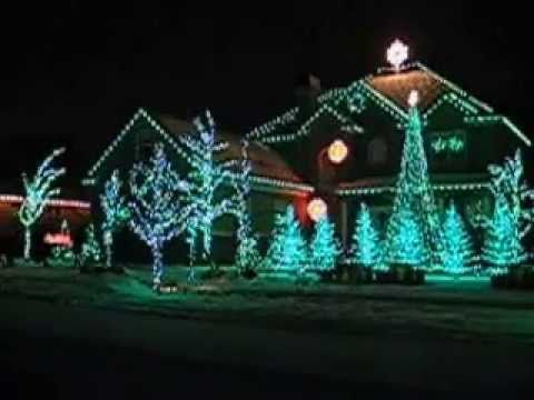 Copy of Synchronized Christmas lights play to music - Carol of the Bells - Copy Of Synchronized Christmas Lights Play To Music - Carol Of The