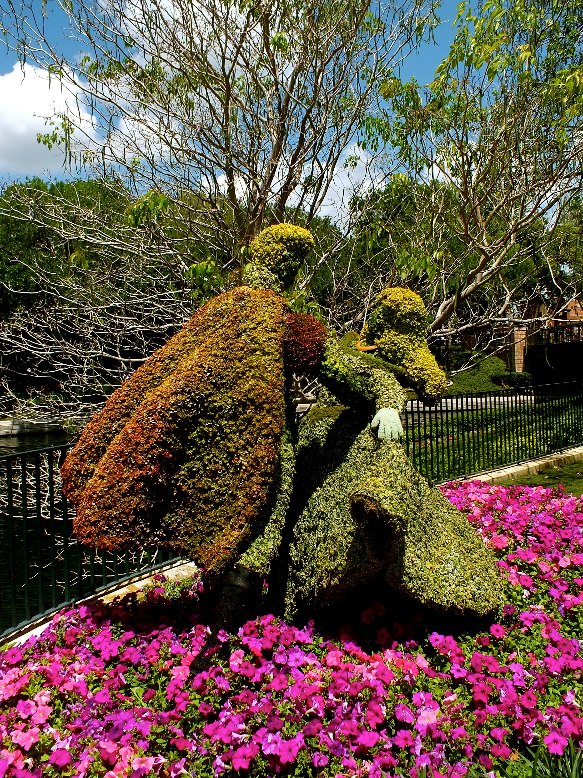 Epcot Flower & Garden Festival | Easter in Orlando 2014 | Pinterest ...