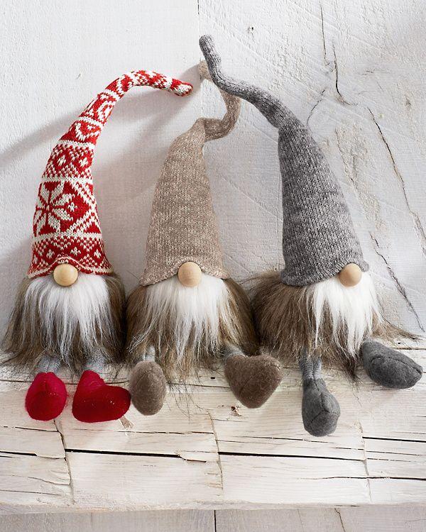 Felt Holiday Gnomes Set #christmasgnomes