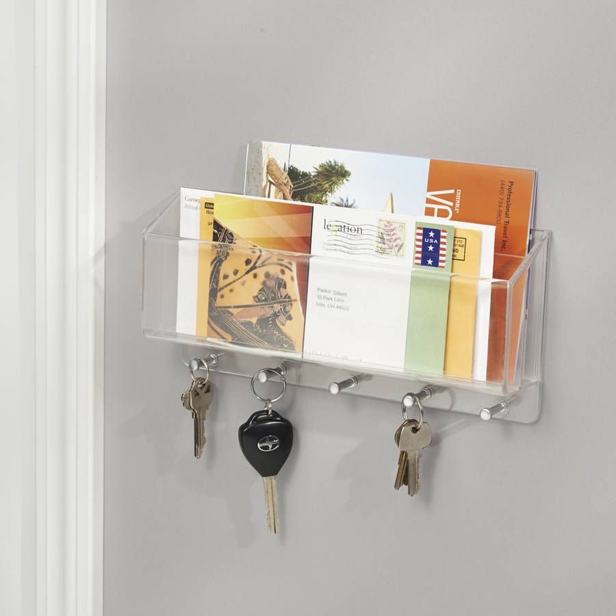 Wall Mounted Letter Rack Wall Mounted Letter Rack With Key Hooks  Wall Mount And Walls