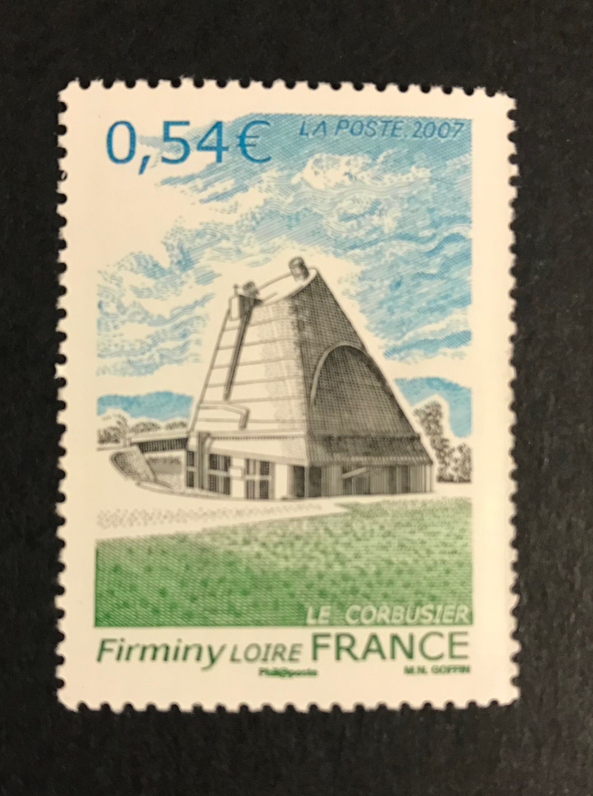 Unesco World Heritage Stamps France The Architectural