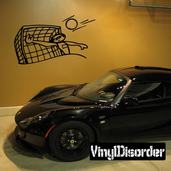 Water Polo Wall Decal - Vinyl Decal - Car Decal - CDS002