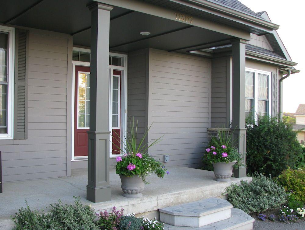 how to make porch column wraps