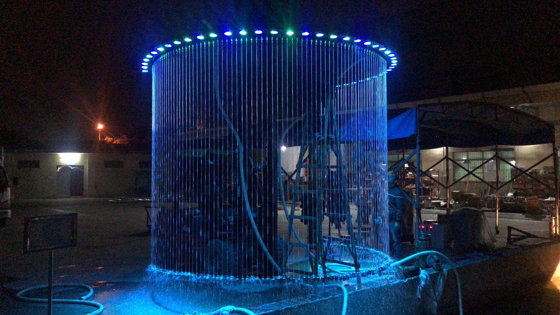 Rain Waterfall Fountain Water Feature Fontana