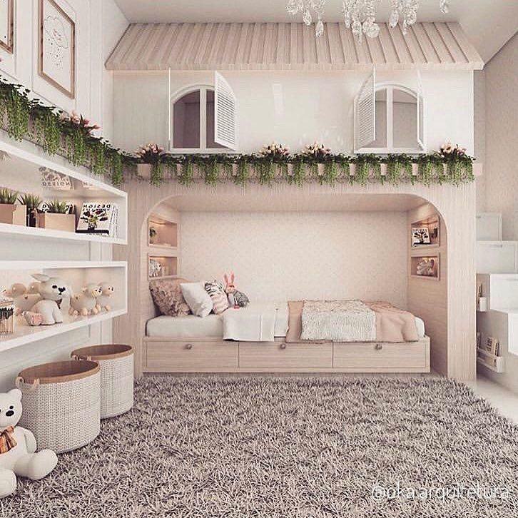 Pin by Saturnina E. Aaron on Baby Bedroom in 2020 Girls