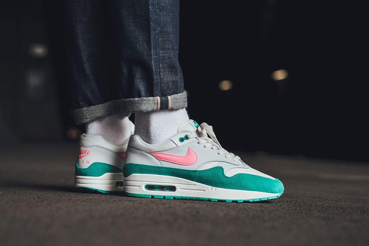 On Foot Nike Air Max 1 Watermelon Eu Kicks Sneaker Magazine